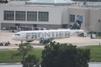 N216FR @ MCO - Frontier Cliff the Mountain Goat A320