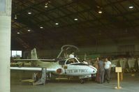 66-7962 @ RND - Cessna T-37B undergoing maintenance at Randolph AFB in November 1979. - by Peter Nicholson