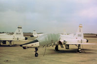 61-0930 @ RND - T-38A Talon of the 12th Flying Training Wing on the flight-line at Randolph AFB in November 1979. - by Peter Nicholson