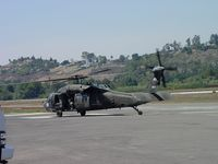 00-26865 @ POC - Taxiing into west helipad - by Helicopterfriend