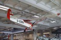 D-EOMA - Piper L-4J Cub / Grasshopper at the Deutsches Museum, München (Munich) - by Ingo Warnecke