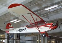 D-EOMA - Piper L-4J Cub / Grasshopper at the Deutsches Museum, München (Munich) - by Ingo Warnecke