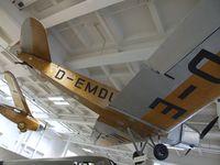 D-EMDU - Klemm L 25 e at the Deutsches Museum, München (Munich)