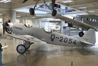 D-2054 - Junkers A 50 ci Junior at the Deutsches Museum, München (Munich)