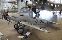 D-2054 - Junkers A 50 ci Junior at the Deutsches Museum, München (Munich) - by Ingo Warnecke