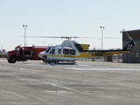 N120LA @ POC - Being re-fueled hot and getting ready to respond to a call out - by Helicopterfriend
