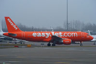 G-EZUI @ EGGW - easyJet's 200th Airbus - by Chris Hall