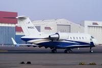 N40XC @ EGGW - Bombardier Aerospace - by Chris Hall