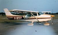 G-BFGY @ EGLF - At Farnborough Air Show 1980. - by Stan Howe