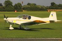 49-RD @ EGTH - 49-RD Alpi Aviation Pioneer 200 - Tour de France ULM 2009 - Anniversaire Louis Bleriot - by Eric.Fishwick