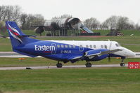 G-MAJA @ EGNX - Eastern's 1994 British Aerospace Jetstream 41, c/n: 41032 at East Midlands