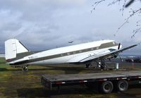 N115SA @ KHIO - Douglas DC-3C at the Classic Aircraft Aviation Museum, Hillsboro OR - by Ingo Warnecke