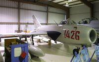 N1426D @ KHIO - Mikoyan i Gurevich MiG-17F FRESCO-C (WSK LIM-5) at the Classic Aircraft Aviation Museum, Hillsboro OR - by Ingo Warnecke