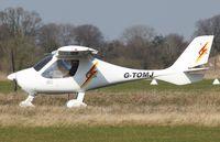 G-TOMJ @ EGSV - Just landed. - by Graham Reeve