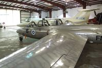 N71FM @ KHIO - Fouga CM.170 Magister at the Classic Aircraft Aviation Museum, Hillsboro OR - by Ingo Warnecke