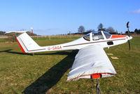 G-SAGA @ EGHP - at Popham Airfield, Hampshire - by Chris Hall