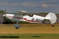 G-RODC @ BREIGHTON - Fine looking biplane - by glider