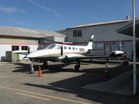 N916RL @ SZP - 1972 Cessna 340, two Continental TSIO-520-K 285 Hp each. Turbocharged and Pressurized. - by Doug Robertson