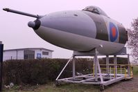 XM569 @ EGBJ - With Jet Age Museum at Glocestershire Airport