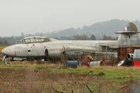 WL349 @ EGBJ - Gloster Meteor T7 at Gloucestershire Airport