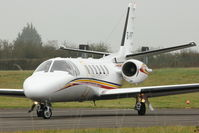 G-YPRS @ EGBJ - Based Cessna 550 at Gloucestershire Airport