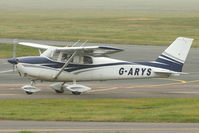 G-ARYS @ EGBJ - At Gloucestershire Airport
