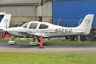N521CD @ EGBJ - At Gloucestershire Airport