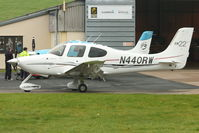 N440RW @ EGBJ - At Gloucestershire Airport