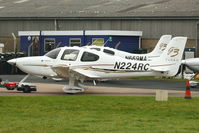 N224RC @ EGBJ - At Gloucestershire Airport