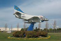 142200 @ KNGZ - 1957 Douglas A4D-1, c/n: 11454, Alameda, CA - by Timothy Aanerud