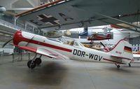 DDR-WQV - Yakovlev Yak-50 at the Deutsches Museum Flugwerft Schleißheim, Oberschleißheim - by Ingo Warnecke