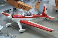 D-EMKB - Hirth Hi 27 Acrostar II at the Deutsches Museum Flugwerft Schleißheim, Oberschleißheim - by Ingo Warnecke