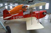 D-EDMH - Herbert Müller DDMH 22 at the Deutsches Museum Flugwerft Schleißheim, Oberschleißheim - by Ingo Warnecke