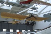UNKNOWN @ EDNX - Roman Weller Flugzeugbau Grade 1909 Libelle replica (did fly - and may do so again in short hops - but was never registered) at the Deutsches Museum Flugwerft Schleißheim, Oberschleißheim - by Ingo Warnecke