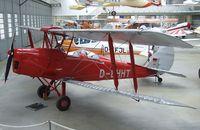 D-EHHT @ EDNX - DeHavilland D.H.82A Tiger Moth at the Deutsches Museum Flugwerft Schleißheim, Oberschleißheim - by Ingo Warnecke