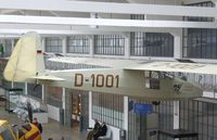 D-1001 - Akaflieg München Mü 10 Milan at the Deutsches Museum Flugwerft Schleißheim, Oberschleißheim - by Ingo Warnecke