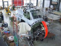53-4458 - Sikorsky H-19B Chickasaw, being restored at the Deutsches Museum Flugwerft Schleißheim, Oberschleißheim - by Ingo Warnecke