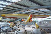 D-1220 - Hirth / Raab Doppelraab IV at the Deutsches Museum Flugwerft Schleißheim, Oberschleißheim - by Ingo Warnecke
