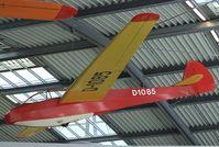 D-1085 - Scheibe Mü 13 E Bergfalke at the Deutsches Museum Flugwerft Schleißheim, Oberschleißheim - by Ingo Warnecke