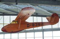 D-8362 - Kaiser Ka 1 at the Deutsches Museum Flugwerft Schleißheim, Oberschleißheim - by Ingo Warnecke