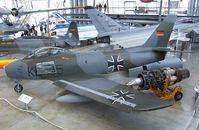 KE-105 - Canadair CL-13B Sabre 6 (North American F-86 Sabre) at the Deutsches Museum Flugwerft Schleißheim, Oberschleißheim - by Ingo Warnecke