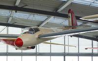 D-6007 - Göppingen Gö IV Gövier III at the Deutsches Museum Flugwerft Schleißheim, Oberschleißheim - by Ingo Warnecke
