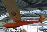D-8802 - Schmetz / Dittmar Condor IV at the Deutsches Museum Flugwerft Schleißheim, Oberschleißheim - by Ingo Warnecke
