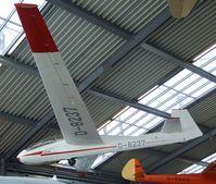 D-8237 - PZL SZD-9bis Bocian at the Deutsches Museum Flugwerft Schleißheim, Oberschleißheim - by Ingo Warnecke