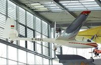 D-KEUL - Akaflieg Karlsruhe AK-1 at the Deutsches Museum Flugwerft Schleißheim, Oberschleißheim - by Ingo Warnecke