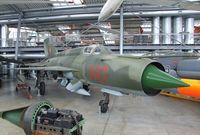 687 - Mikoyan i Gurevich MiG-21MF FISHBED-J at the Deutsches Museum Flugwerft Schleißheim, Oberschleißheim - by Ingo Warnecke