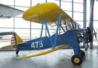 D-EFTX @ EDNX - Stearman N2S-4 at the Deutsches Museum Flugwerft Schleißheim, Oberschleißheim - by Ingo Warnecke