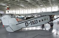 D-1103 - Dornier Do B Merkur (static replica) at the Dornier Museum, Friedrichshafen - by Ingo Warnecke