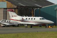 M-YSKY @ EGNH - Raytheon 390 Premier 1, c/n: RB209 at Blackpool