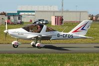 G-CFDS @ EGNH - 2009 RONFELL TL 2000UK STING CARBON, c/n: LAA 347-14785 at Blackpool